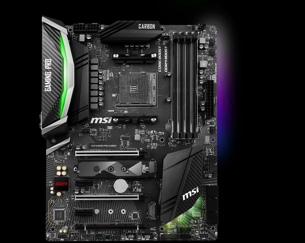 Compatibility list for EK-FB MSI X470 Pro Carbon RGB