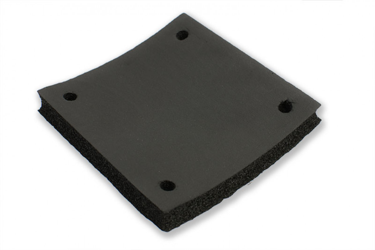 Closed-cell insulation - Mounting LGA-115x Backplate (15mm)