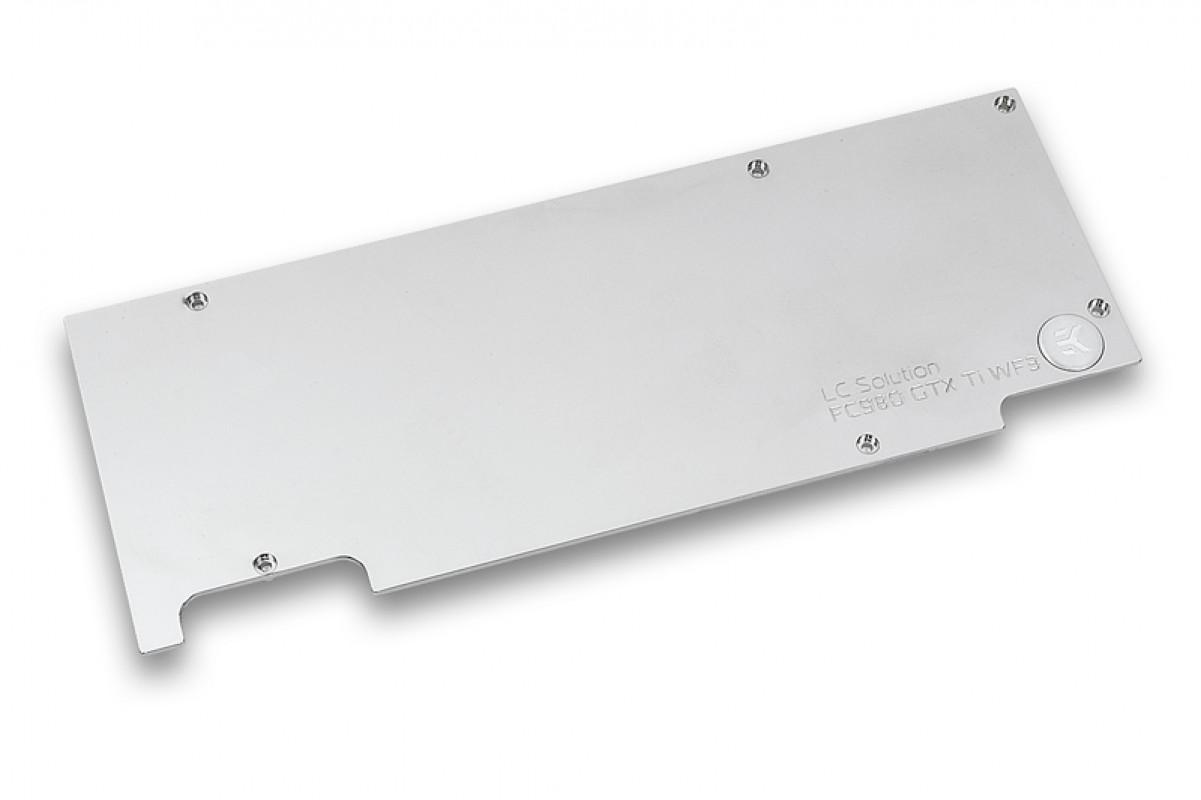 EK-FC980 GTX Ti WF3 Backplate - Nickel