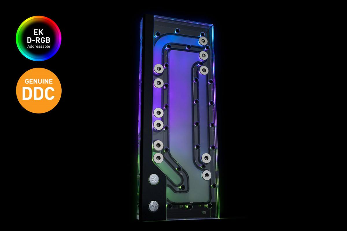 EK-Classic DP Side PC-O11D G1 D-RGB + DDC 4.2 PWM