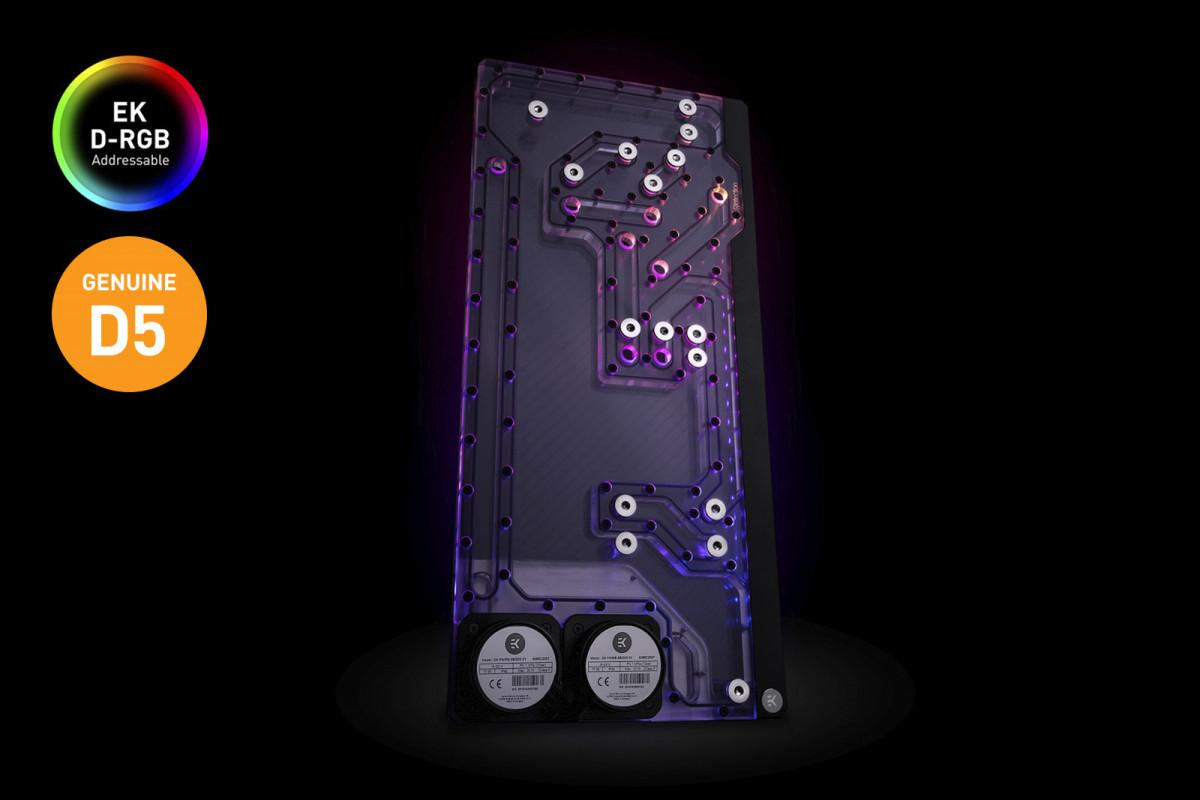 EK-Quantum Reflection 1000D D5 PWM D-RGB - Plexi