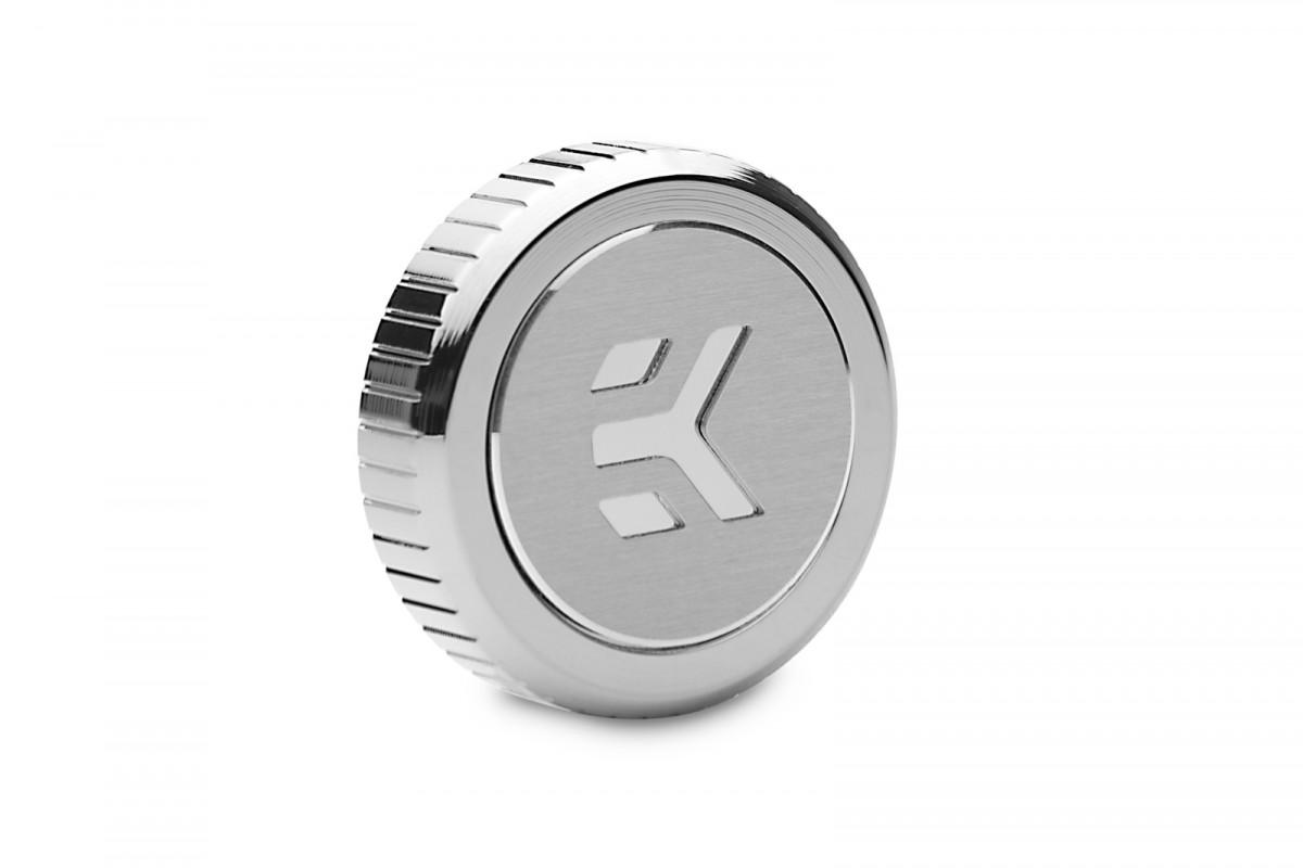EK-Quantum Torque Plug w/Badge - Nickel