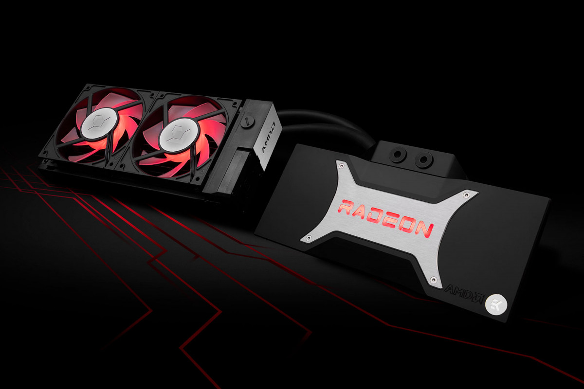 EK-Quantum Reaction AIO RX 6800/6900 D-RGB P240 - AMD Radeon Edition