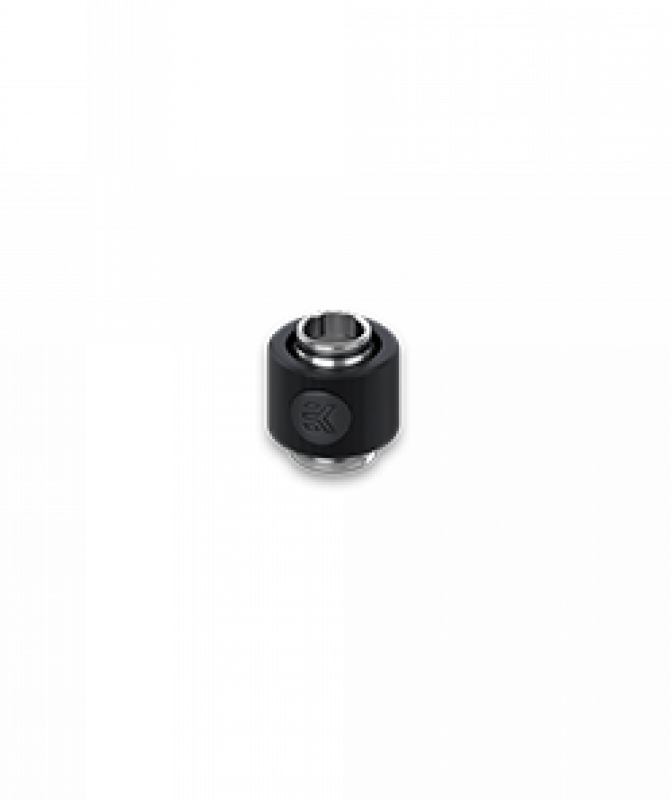EK-ACF ALU Fitting 10/13mm - Black