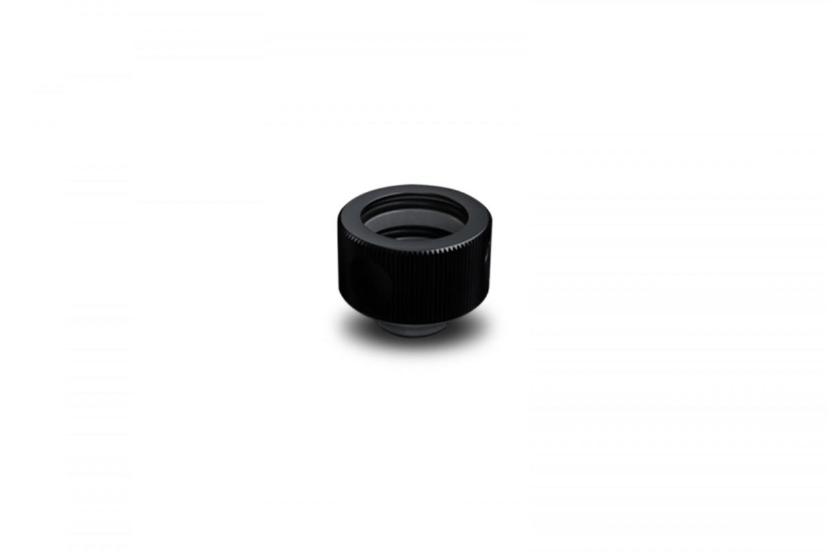 EK-HDC ALU Fitting 16mm - Black