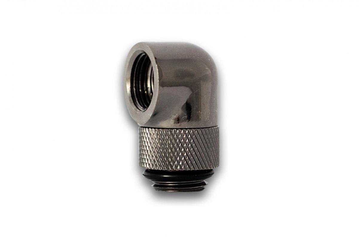 EK-PSC Adapter 90° G1/4 Black Nickel (EOL)