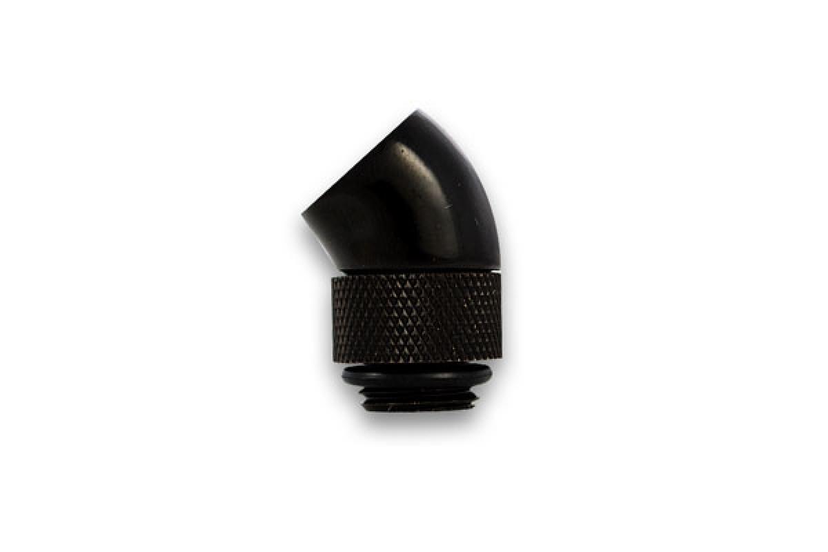 EK-PSC Adapter 45° G1/4 Black (EOL)