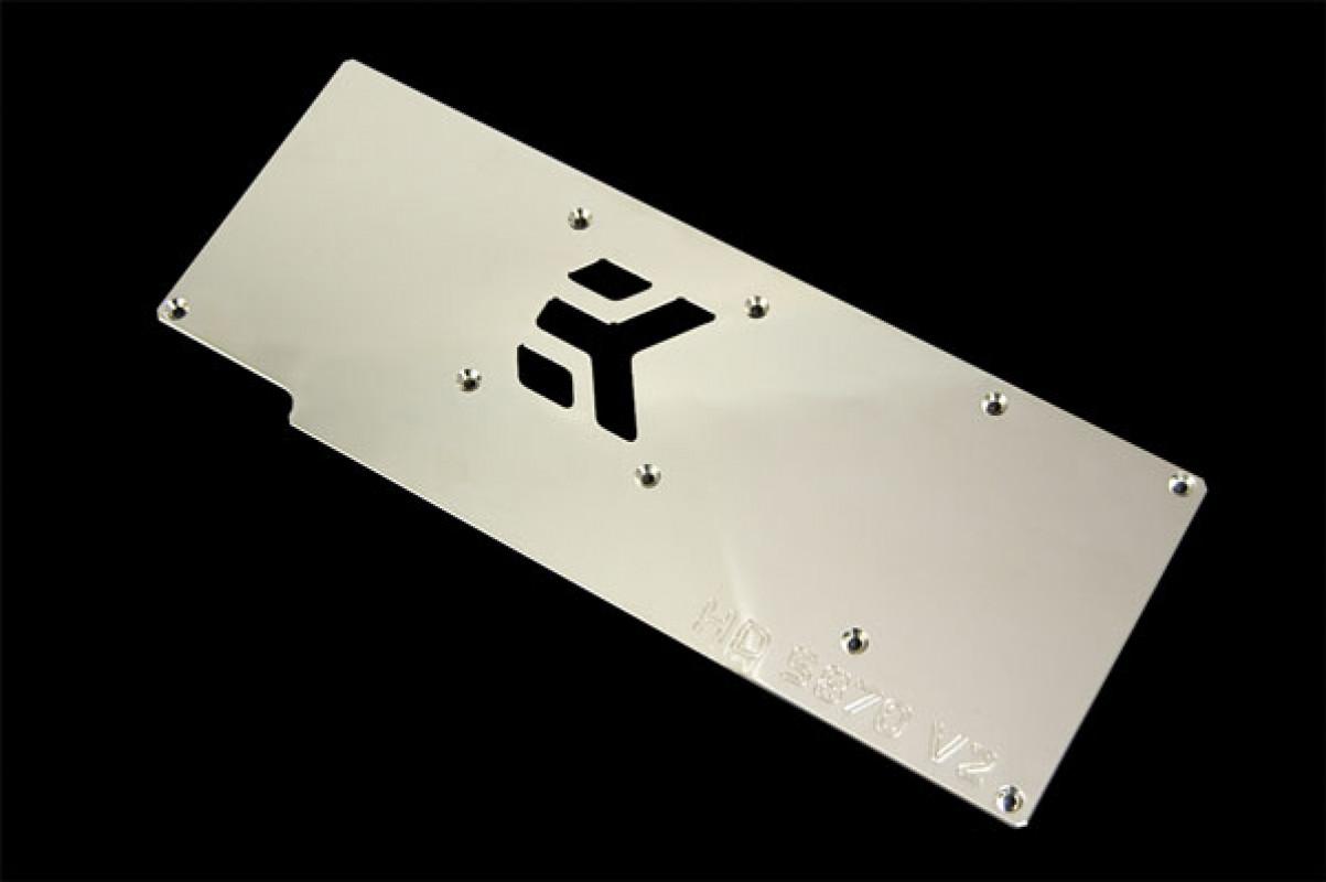 EK-FC5870 V2 backplate - Nickel plated