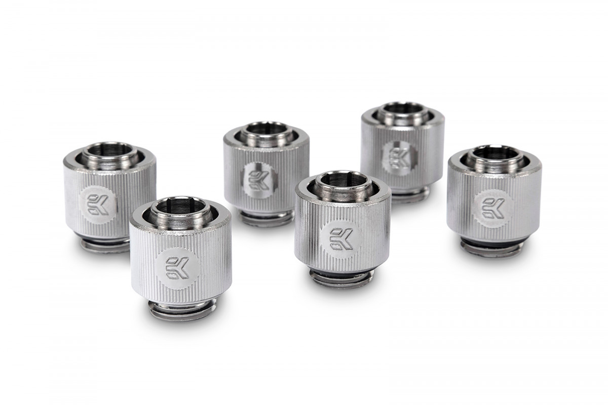 EK-ACF Fitting 10/13mm - Nickel (6-pack)