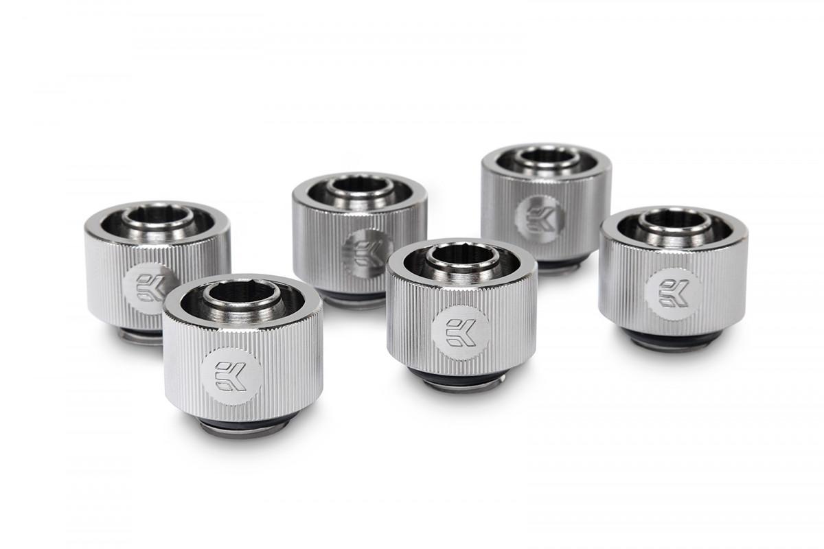 EK-ACF Fitting 10/16mm - Nickel (6-pack)