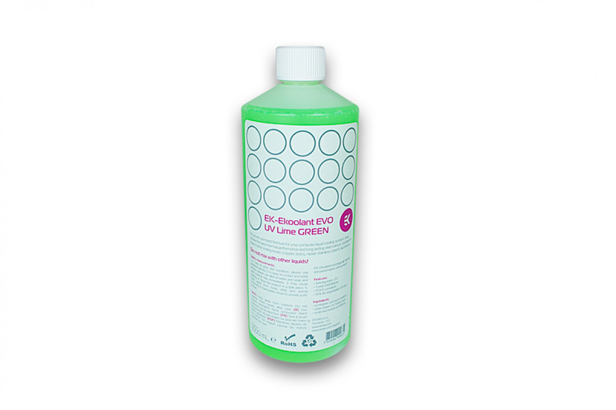 EK-Ekoolant EVO UV Lime GREEN (premix 1L)