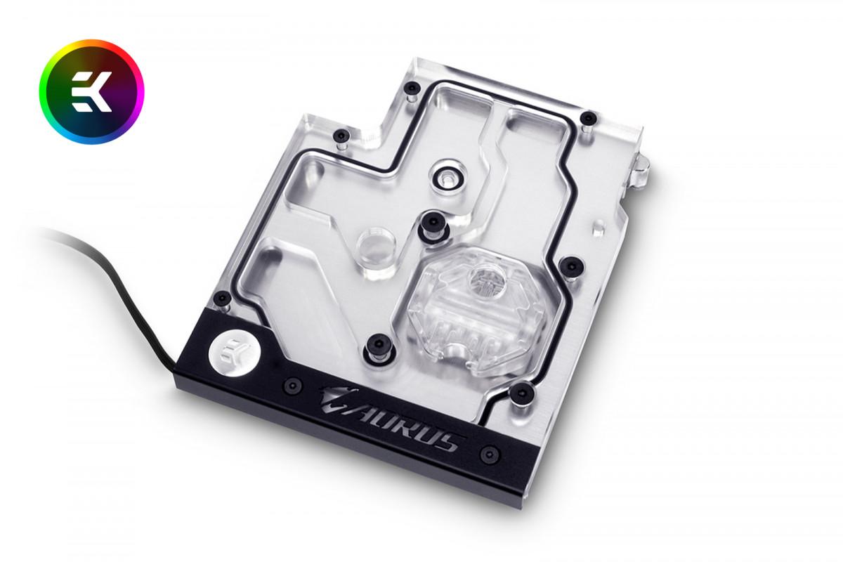 EK-FB GA AX370 Gaming RGB Monoblock - Nickel