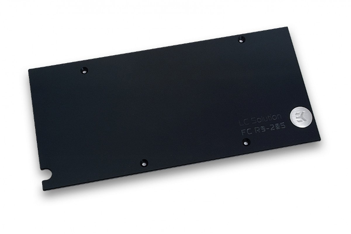 EK-FC R9-285 Backplate - Black