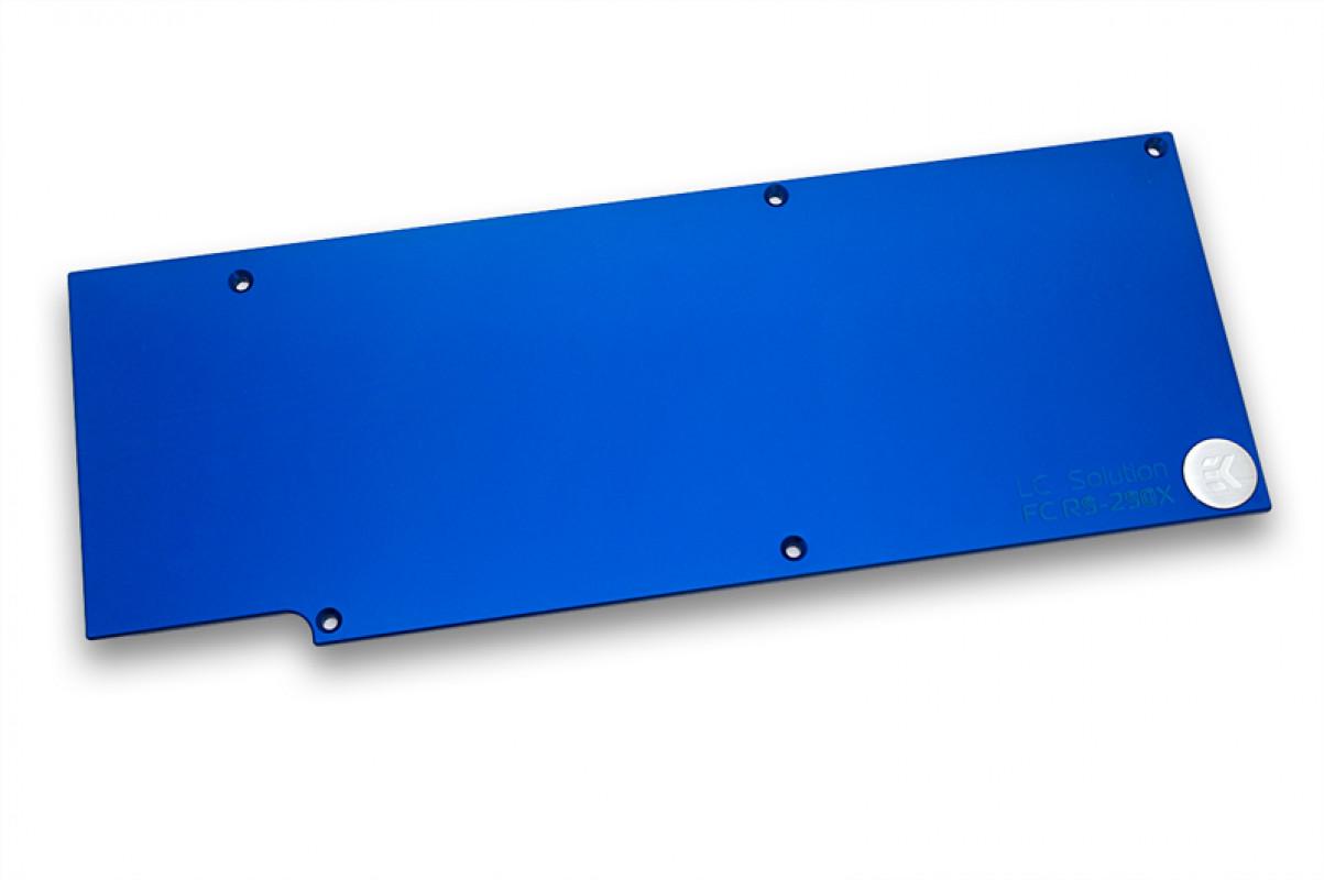 EK-FC R9-290X Backplate – Blue (QClass 2)