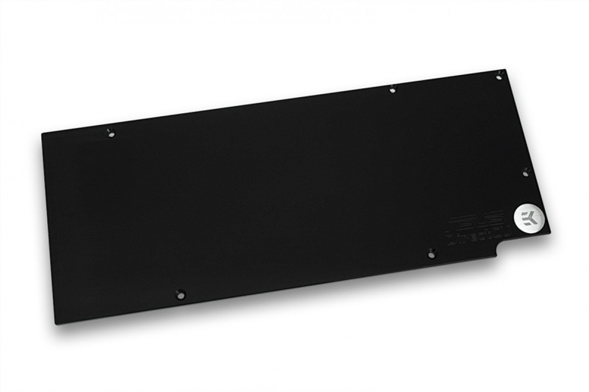 EK-FC R9-290X DCII Backplate - Black