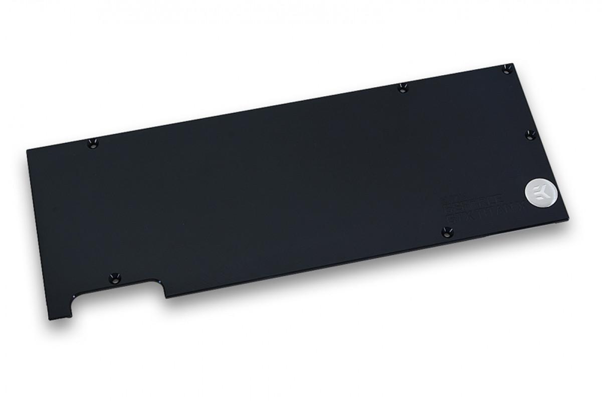 EK-FC Titan X Backplate - Black