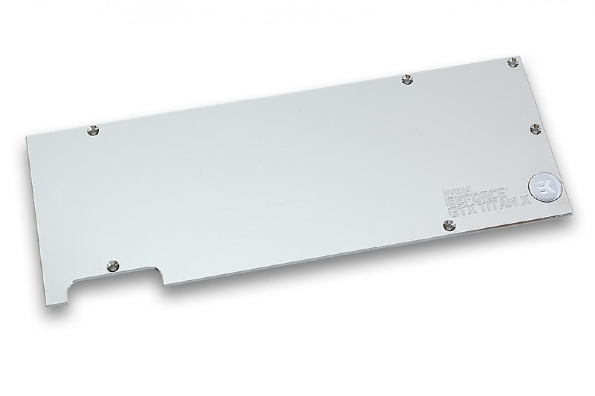 EK-FC Titan X Backplate - Nickel