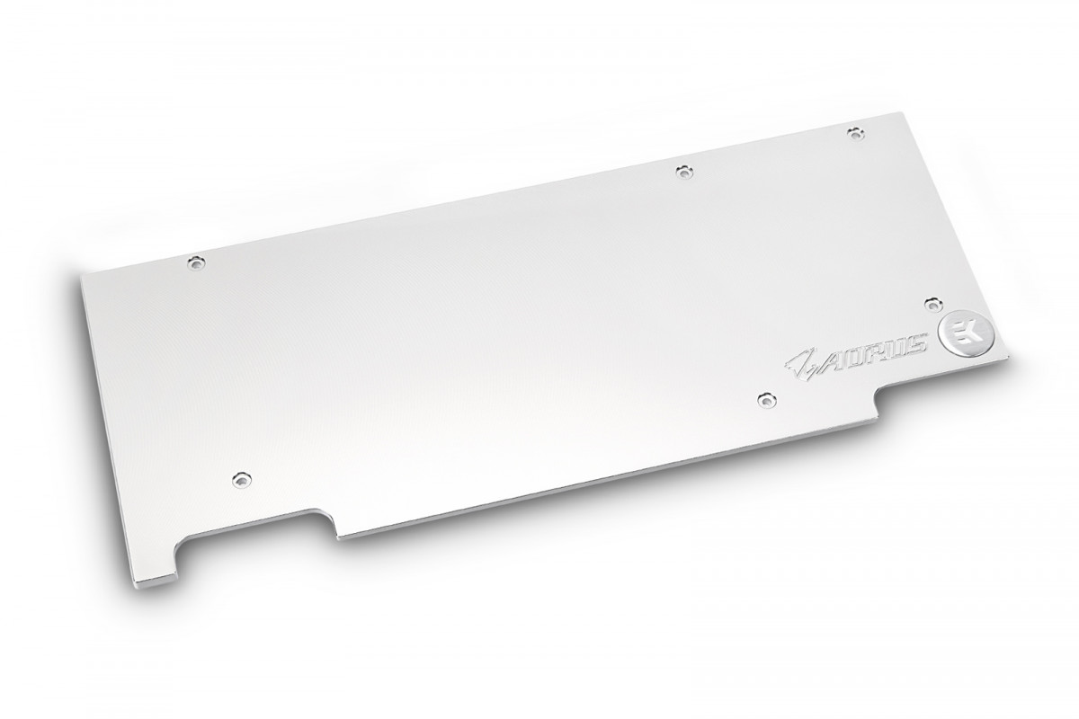 EK-FC1080 GTX Ti Aorus Backplate - Nickel