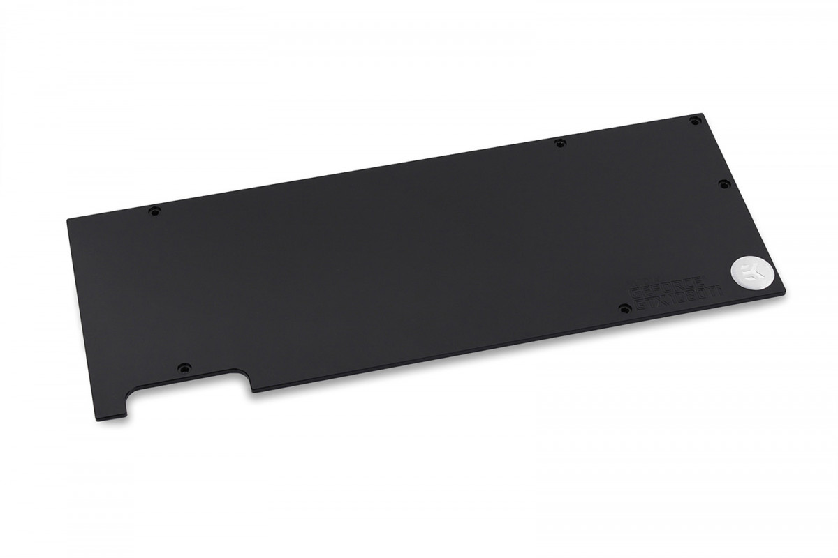 EK-FC1080 GTX Ti Backplate – Black QC2