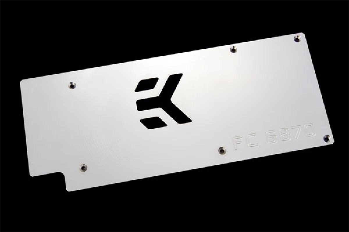 EK-FC6870 Backplate - Nickel plated