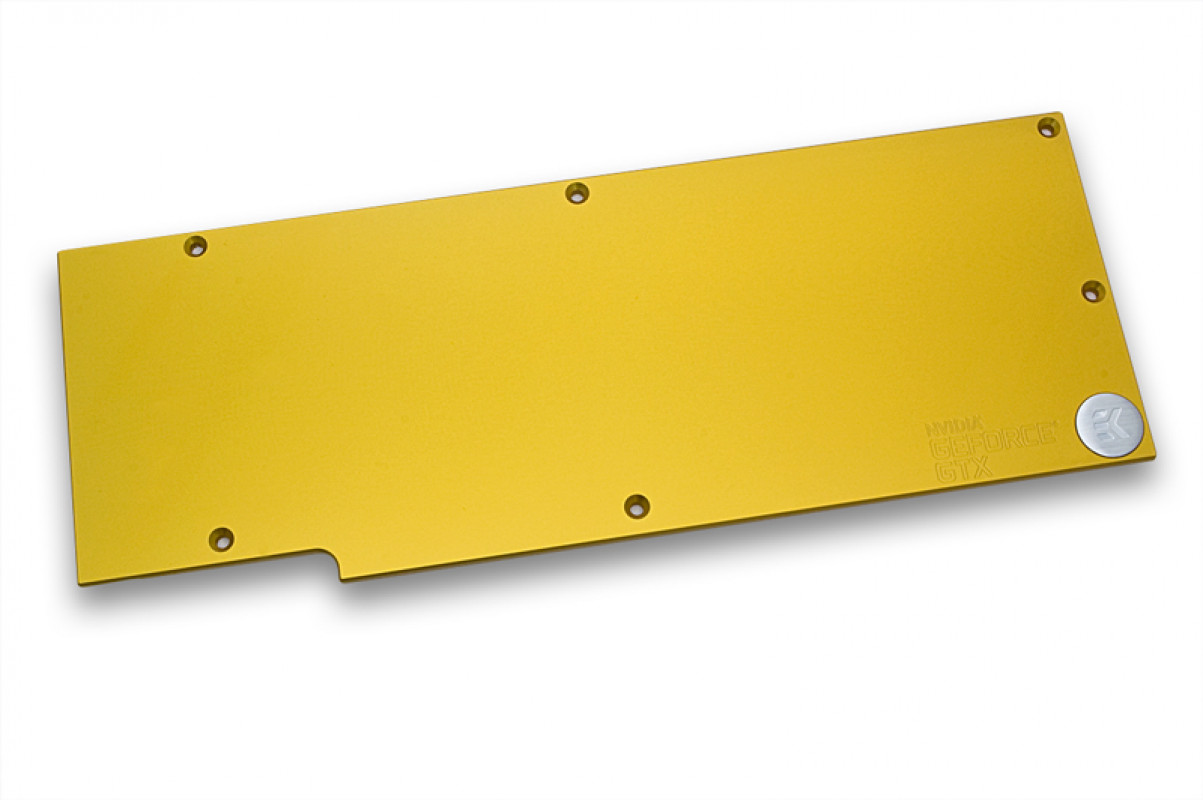 EK-FC780 GTX Ti Backplate - Gold