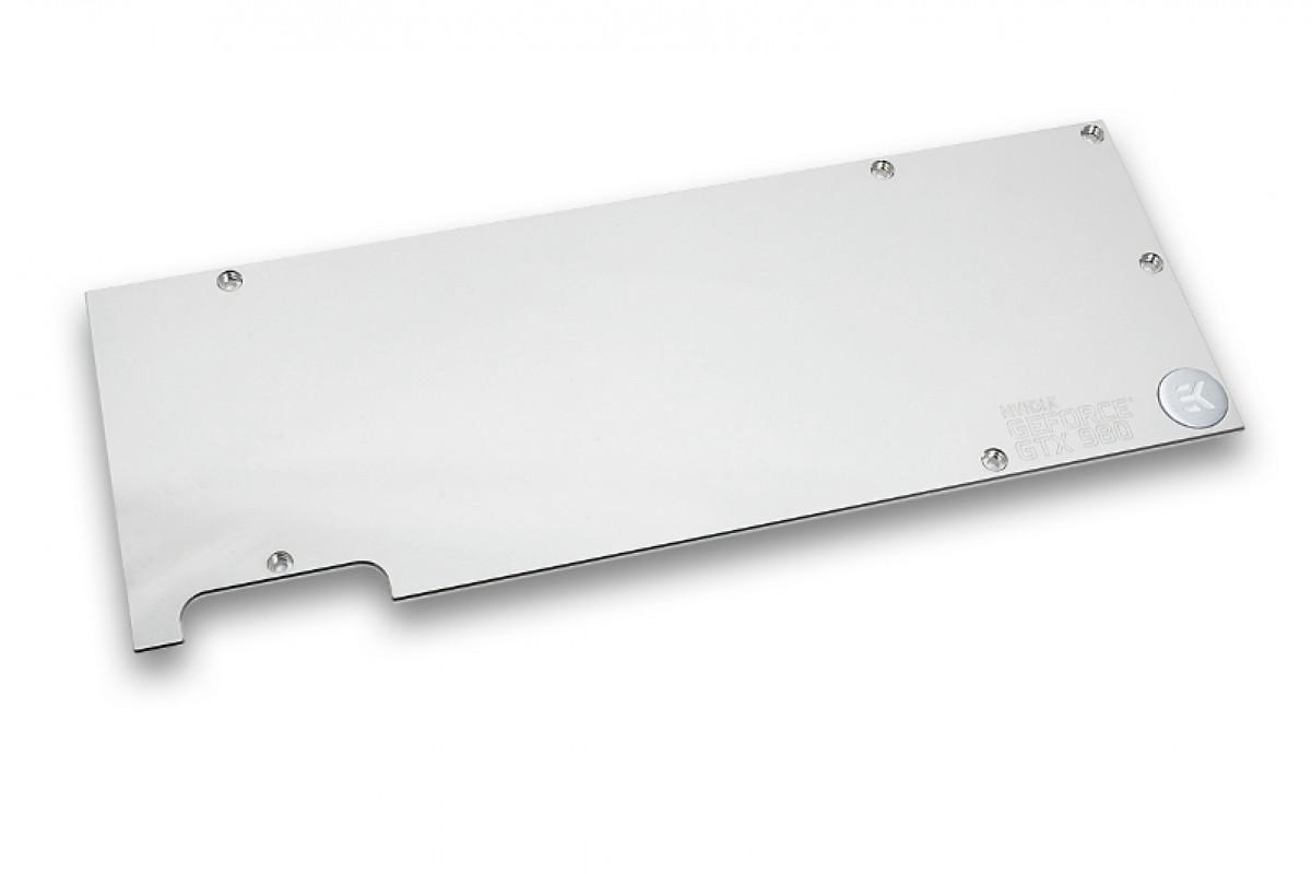 EK-FC980 GTX Backplate - Nickel