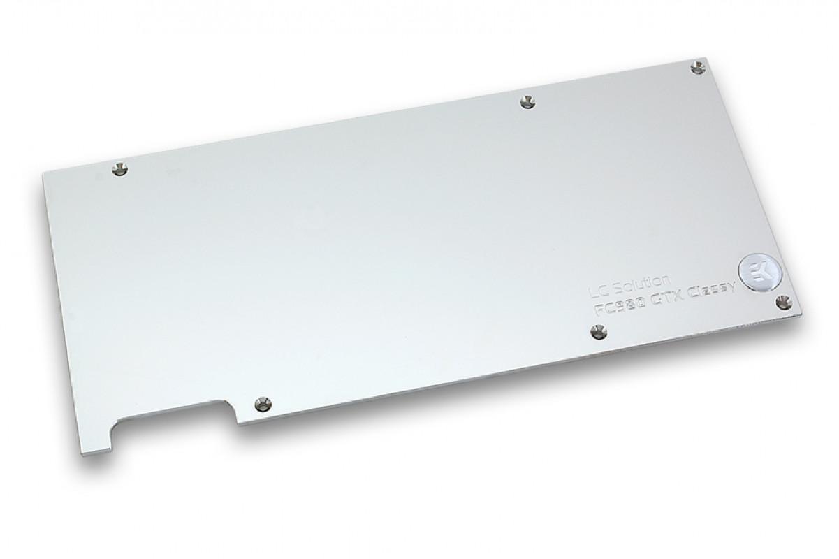 EK-FC980 GTX Classy Backplate - Nickel