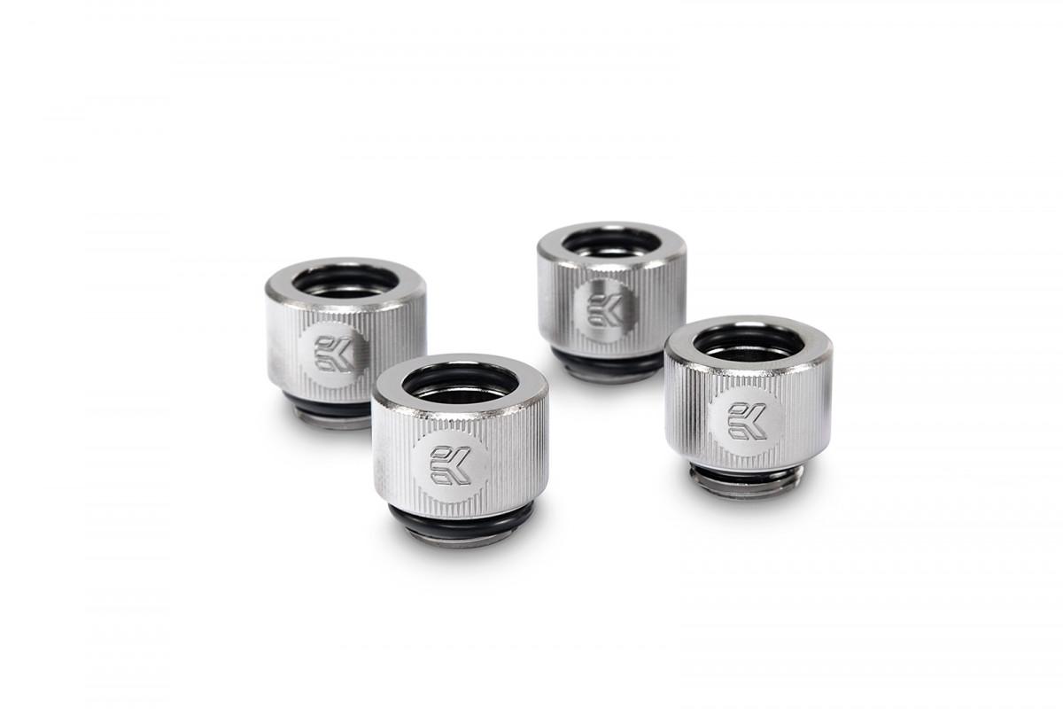 EK-HDC Fitting 12mm - Nickel (4-pack)
