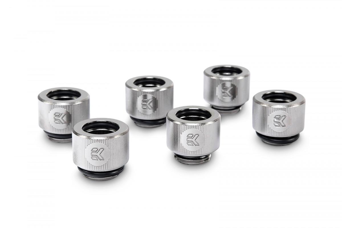 EK-HDC Fitting 12mm - Nickel (6-pack)