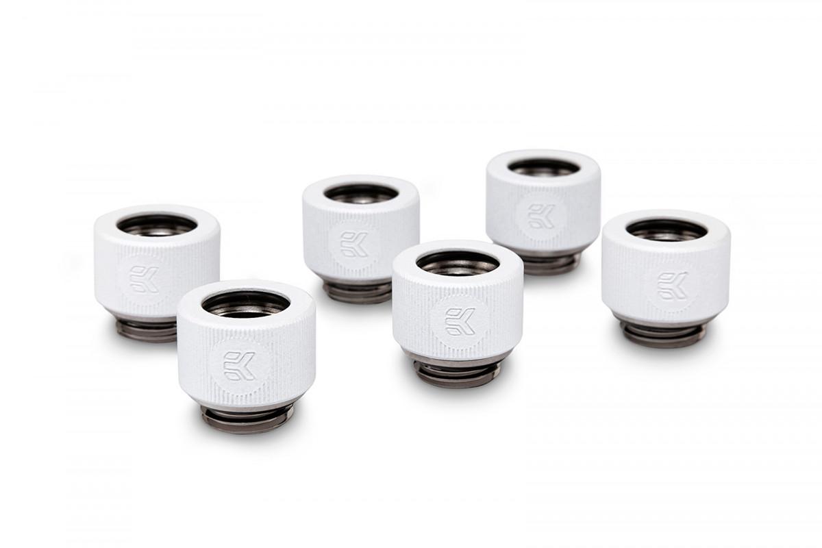 EK-HDC Fitting 12mm - White (6-pack)
