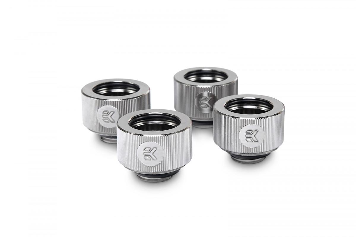 EK-HDC Fitting 16mm - Nickel (4-pack)