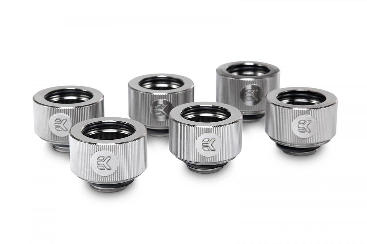 EK-HDC Fitting 16mm - Nickel (6-pack)