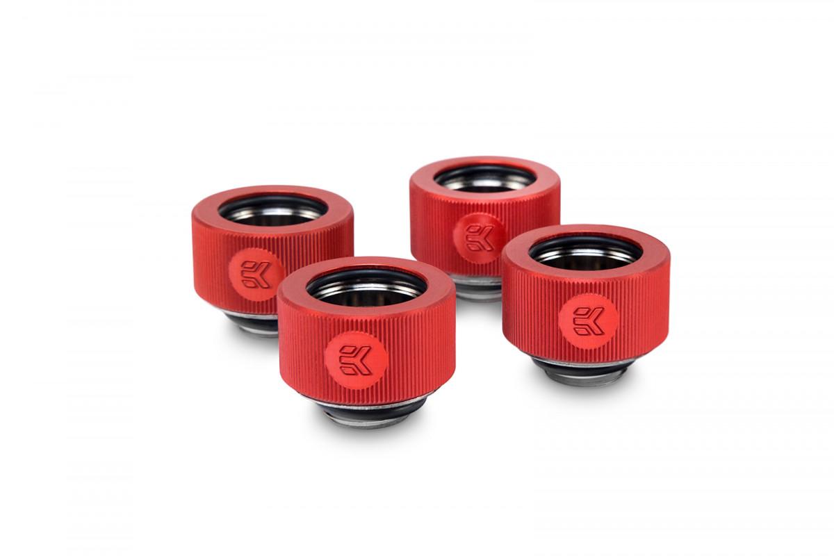 EK-HDC Fitting 16mm - Red (4-pack)