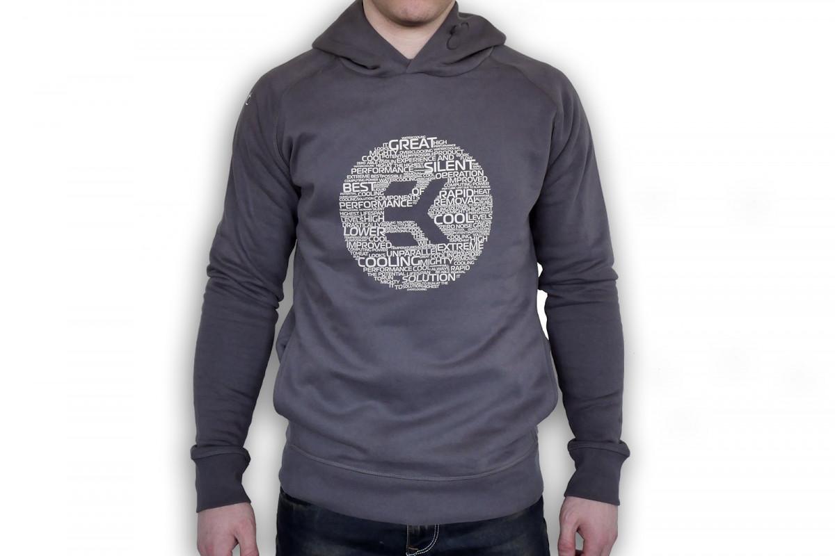 EK-Hoodie Male Anthracite-M