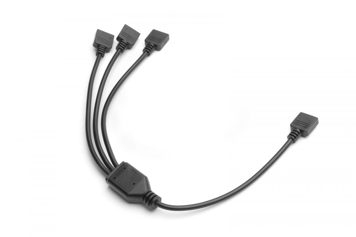 EK-Loop D-RGB 3-Way Splitter Cable
