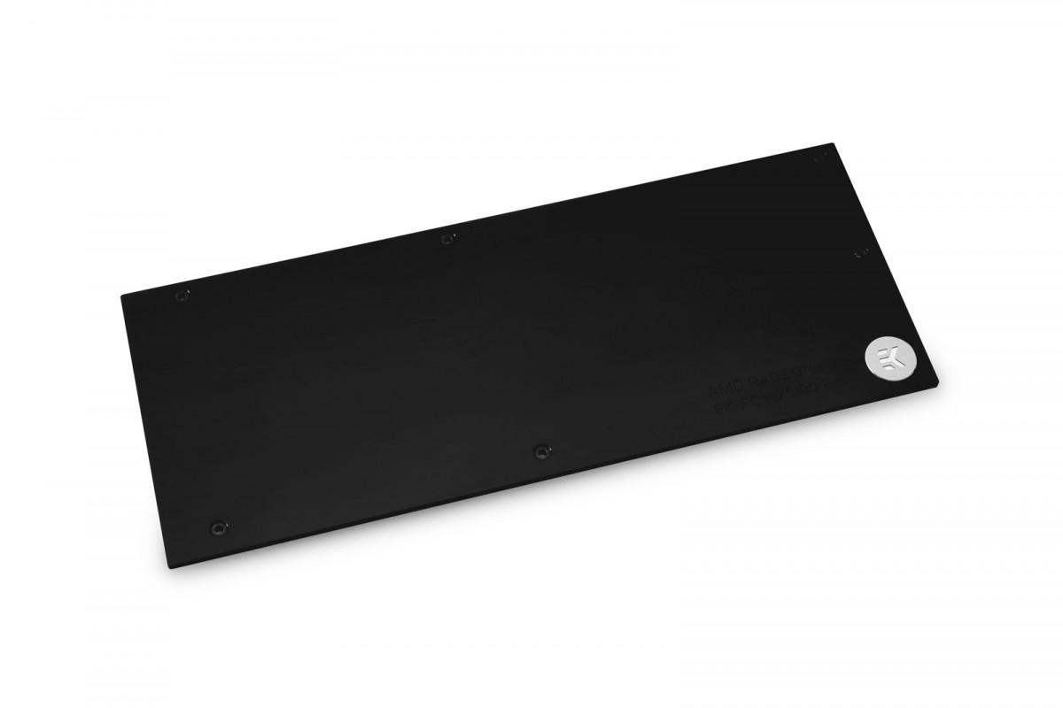 EK-Pro GPU WB WX9100 Backplate - Black