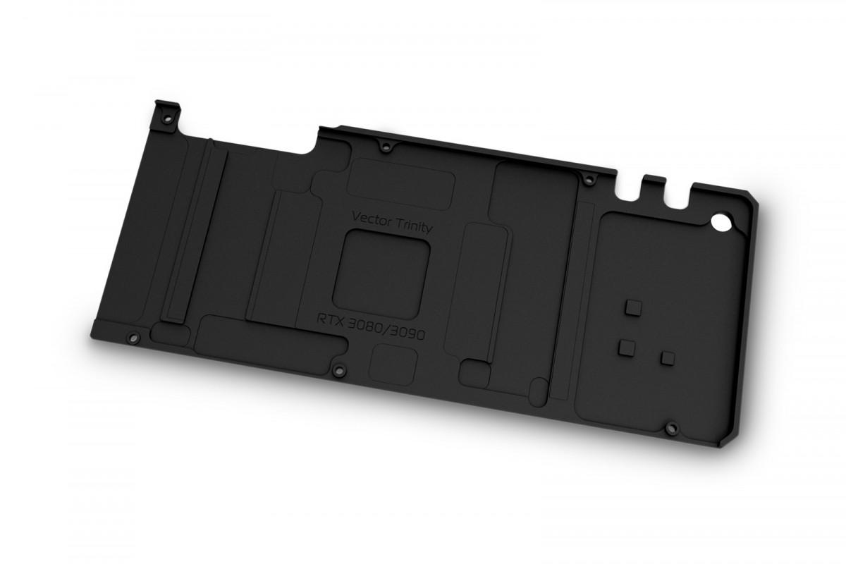 EK-Quantum Vector Trinity RTX 3080/3090 Backplate - Black