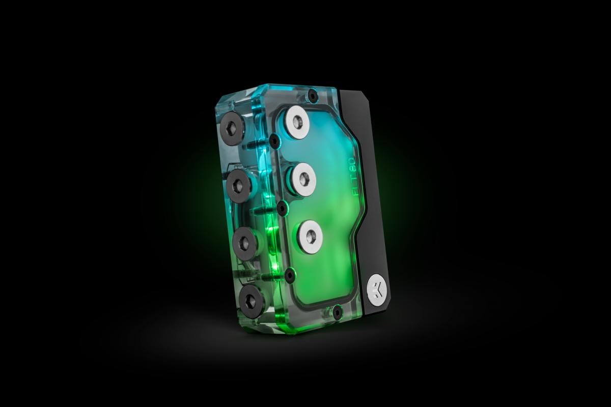 EK-Quantum Kinetic FLT 80 DDC PWM D-RGB - Plexi