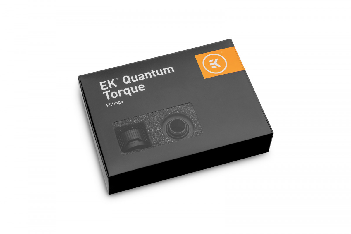 EK-Quantum Torque 6-Pack HDC 16 - Black