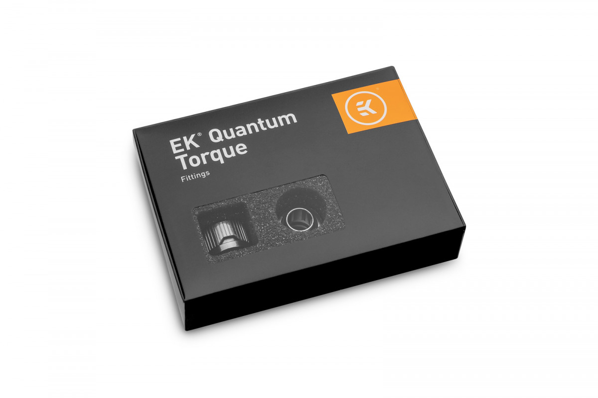 EK-Quantum Torque 6-Pack STC 10/13 - Black Nickel