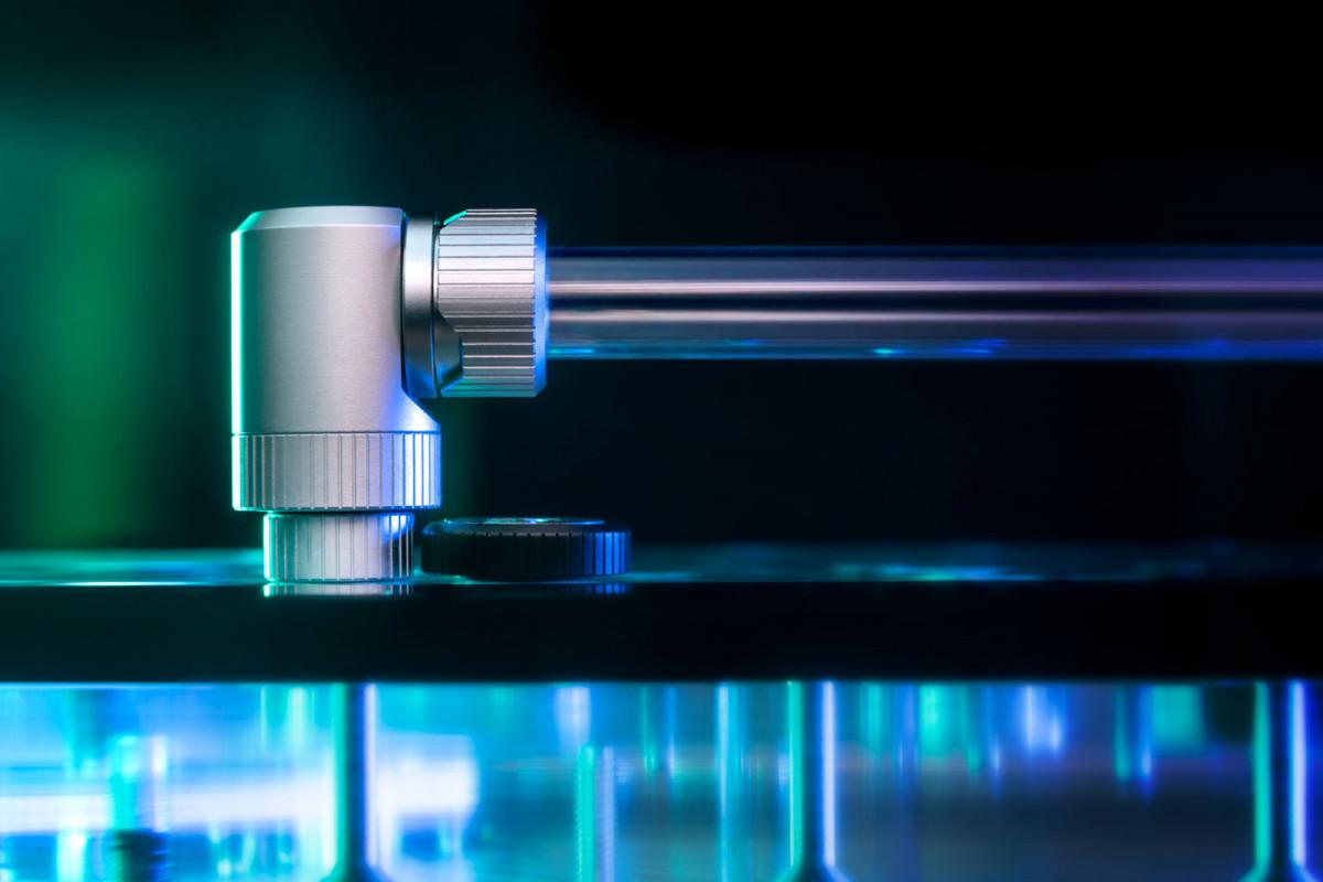EK-Quantum Torque Micro Extender Static MM 7 - Satin Titanium