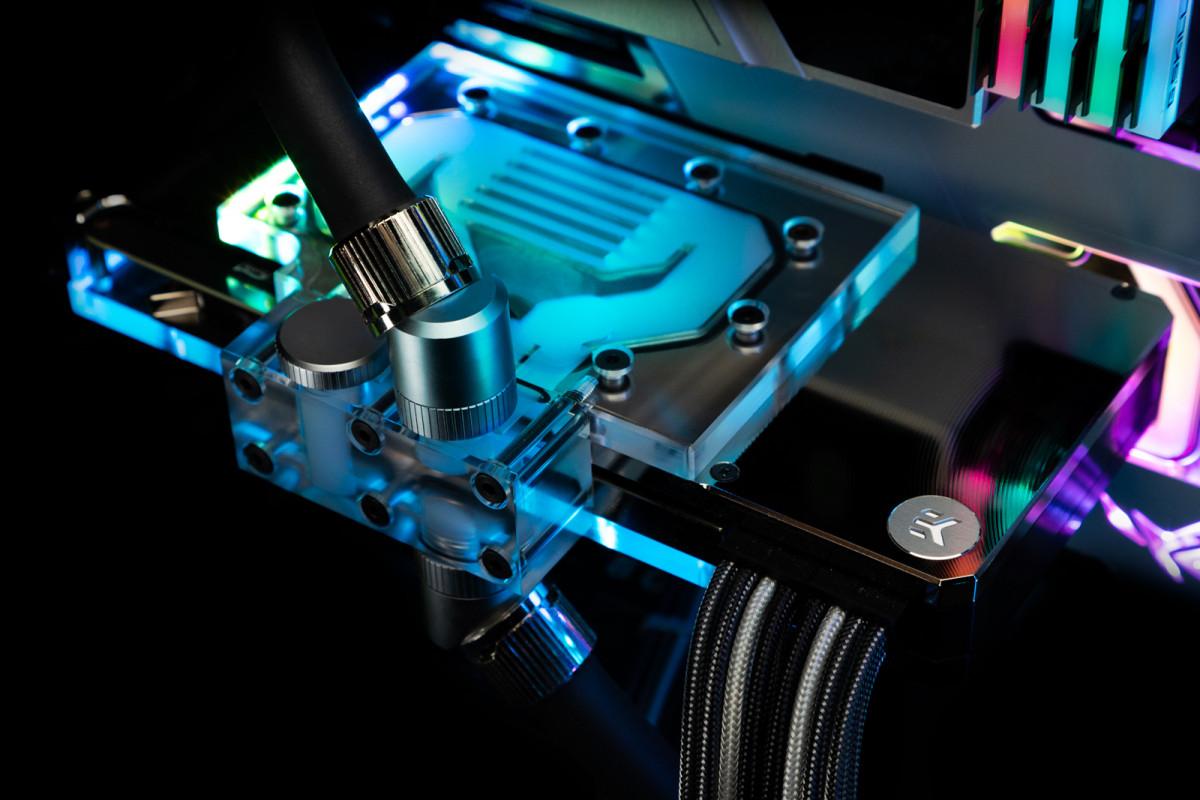 EK-Quantum Vector RE RTX 3080/3090 Active Backplate D-RGB - Plexi