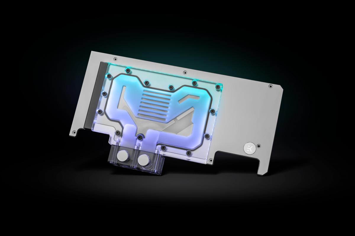 EK-Quantum Vector Strix RTX 3080/3090 Active Backplate D-RGB - Plexi