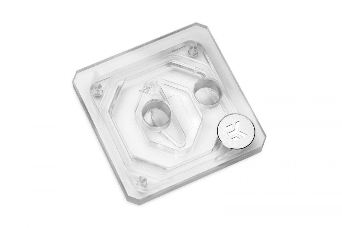 EK-Quantum Velocity Top w/Badge - Plexi