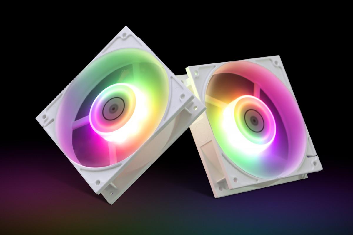 EK-Vardar EVO 120ER D-RGB (500-2200 RPM) - White