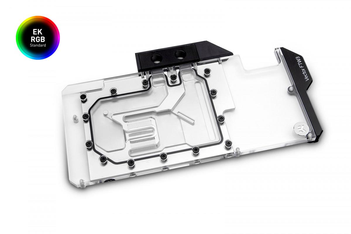 EK-Vector FTW3 RTX 2080 RGB - Nickel + Plexi