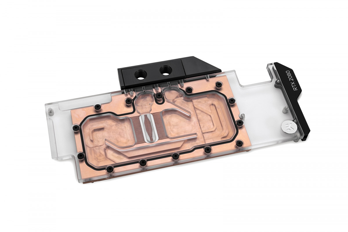EK-Vector RTX 2080 - Copper + Plexi