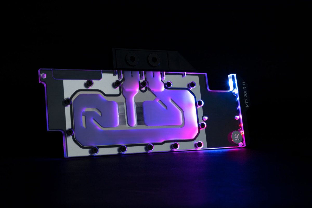 EK-Quantum Vector RTX RE Ti D-RGB - Nickel + Plexi