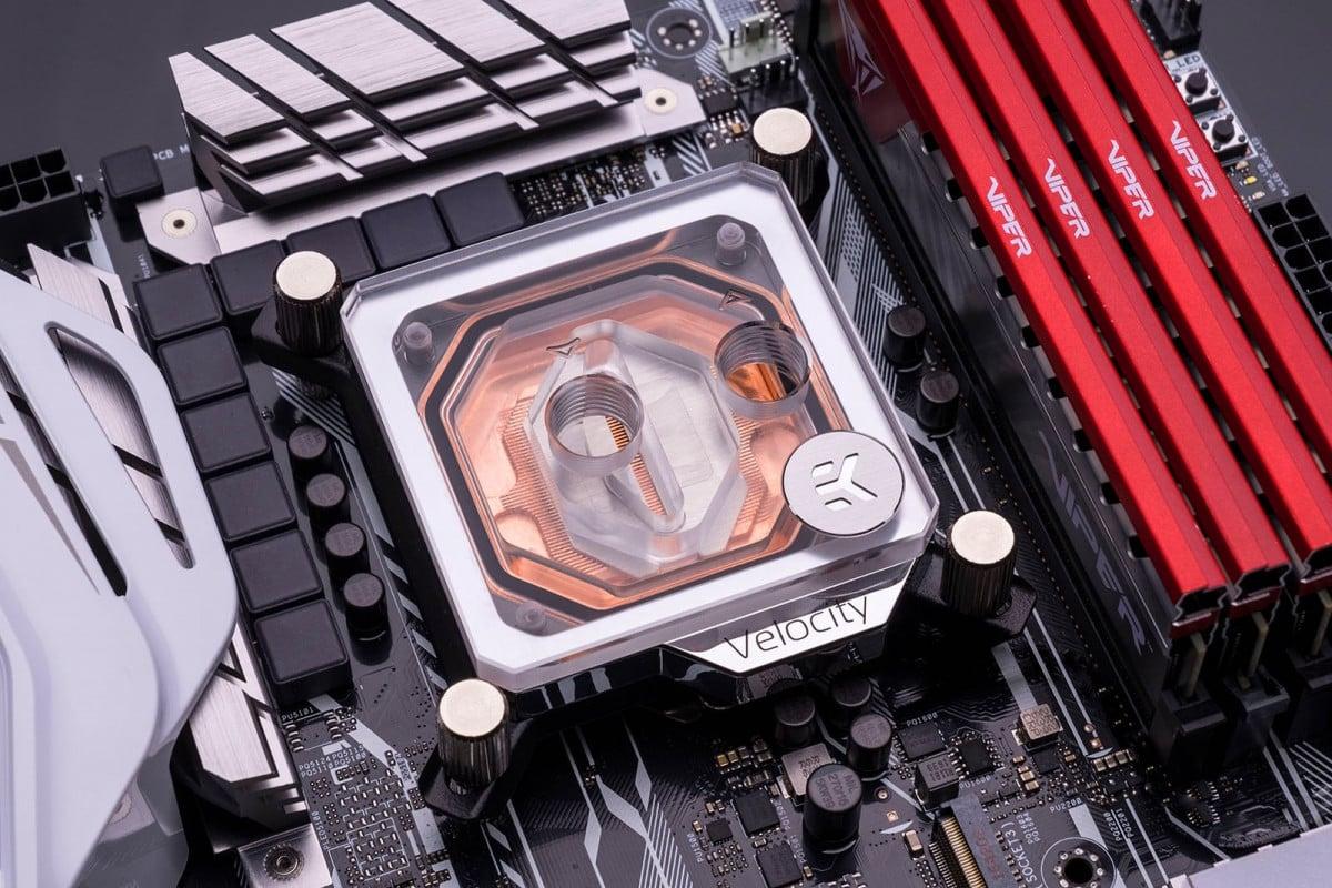 EK-Quantum Velocity - Copper + Plexi