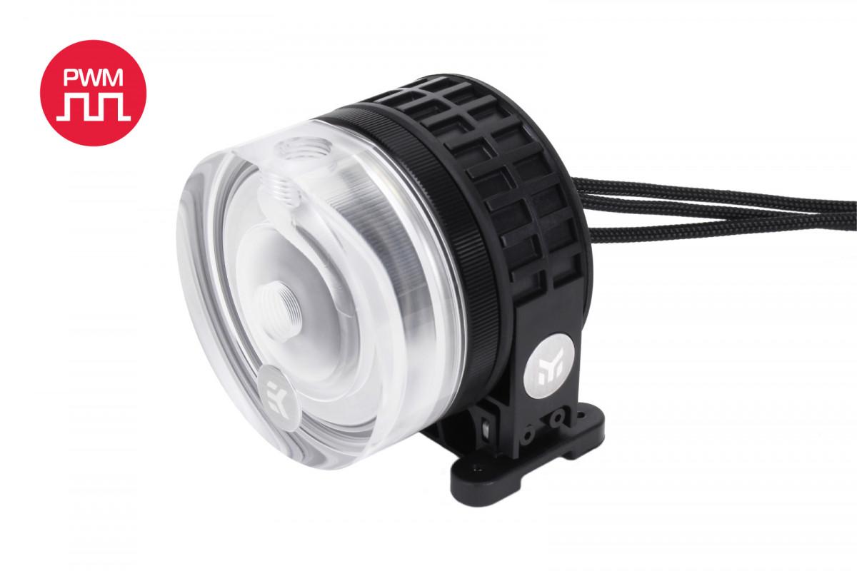 EK-XTOP Revo D5 PWM - Plexi (incl. sleeved pump)